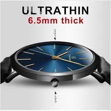 2018 <b>New</b> Men'S <b>Watch</b> 6.5mm Ultra Thin <b>Fashion</b> KEMANQI ...