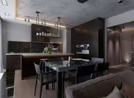 modern wood dining room sets: classic dining room with cheap black wooden dining table sets and modern wood flooring plus white