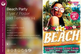 beach flyers template design v 4 tds psd flyer templates beach flyers template psd for photoshop