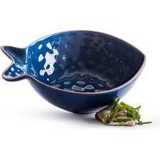 """<b>SagaForm Блюдо сервировочное</b> """"Рыба"""" малое синее Kitchen ..."""