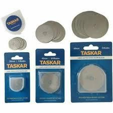Taskar <b>Rotary Cutter</b> Blades <b>28mm</b>, <b>45mm</b>, 60mm Olfa Dafa 1, 5, 10 ...