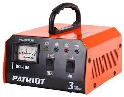 Зарядное <b>устройство PATRIOT BCI-10A</b> — купить по выгодной ...