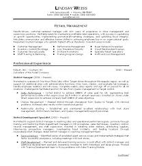 Resume Examples  Summary For Resume Example For Sales Professional In Retail Management With Core Skills