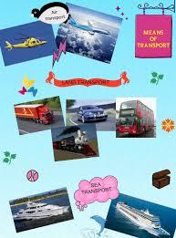 essay on modern means of transport