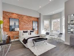 sophisticated way to use exposed brick in your bedroom design porcelanosa usa bedroomdelightful elegant leather office