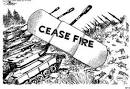 Images & Illustrations of cease-fire