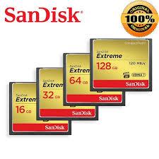 <b>100</b>% <b>Original SanDisk CompactFlash</b> Memory Card 32GB 64GB ...