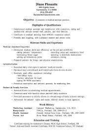 medical receptionist resume objective   singlepageresume com    resume sample receptionist medical assistant professional summary for medical receptionist