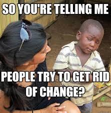 Skeptical Black Child Meme - skeptical black baby meme due to ... via Relatably.com