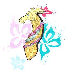 <b>Summer Giraffe</b> | Artworktee