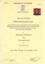 i need a job uniben first class graduate begs buhari for a job first class lasisi job 1