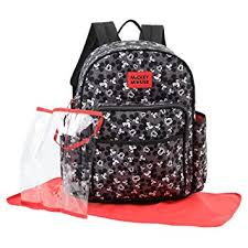 Disney Mickey Mouse Toss Head Print Backpack ... - Amazon.com