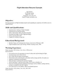 flight attendant resume objective job resume samples flight attendant resume objective