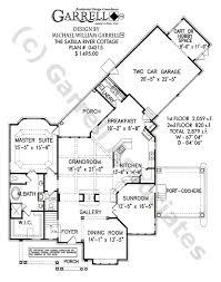 Satilla River Cottage House Plan   House Plans by Garrell    satilla river cottage house plan   st floor plan