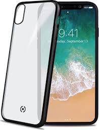 <b>Celly Laser</b> Matt <b>чехол</b> для Apple iPhone X, Transparent Black ...