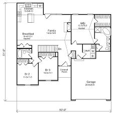 Traditional Single Story   SL   st Floor Master Suite  CAD    Floor Plan