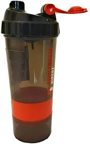 Protein <b>Shaker Bottle</b>, 500ml 100% <b>Leak Proof</b> Non-Toxic <b>BPA Free</b> ...