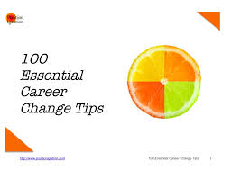 cheap a career change a career change deals on line at get quotations middot 100 essential career change tips