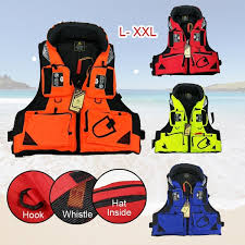 <b>Sea Fishing</b> Life Jacket <b>Multi Functional</b> Adult Fishing Vessel ...