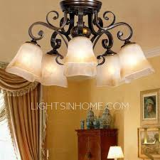 rustic 5 light twig type dining room ceiling lights ceiling dining room lights photo 2
