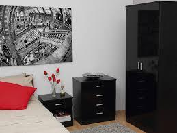 birlea lynx high gloss all white drawer dressing table bedroom furniture new o of bedroom black bedroom furniture sets