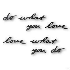 """<b>Надпись декоративная</b> на стену """"<b>Do What</b> You Love"""". Купить в ..."""