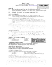 clinical research coordinator resume   clinical research    speech language pathology resume templates   resume template builder