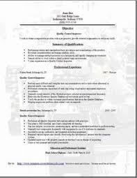 click here to download this quality assurance engineer resume    electronic assembly resume   quality control resume