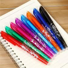 <b>1pcs Preferential Price</b> Colorful Erasable Gel Pens Blue Black Pen ...