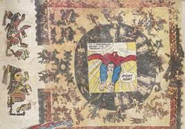visual culture of the nacirema chagoya s printed codices art in fig 1b enrique chagoya detail of tales from the conquest codex