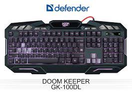 Обзор игровой <b>клавиатуры Defender Doom Keeper</b> GK-100DL ...