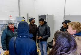 renewable energy engineering masters msc course london west mill wind and pv farm field trip