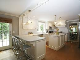 high ceiling kitchen pictures design inspiration  wonderful kitchen lighting with track light also brown floor
