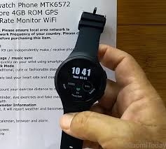 <b>K9 Smartwatch</b> Review: Android Standalone Smartwatch Acting Like ...