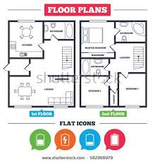 Fine Floor Plan Furniture Symbols Bedroom With House Battery Charging Icons On Innovation Ideas