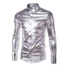 Item Type: Shirts Gender: <b>Men</b> Pattern Type: Solid Sleeve <b>Style</b> ...