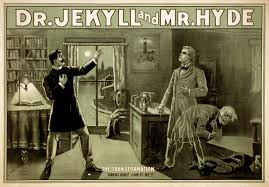 strange case of dr jekyll and mr hyde poster from the 1880s main article adaptations of strange case of dr jekyll and mr hyde