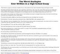 worst college essay    transmetal the worst application essays ever