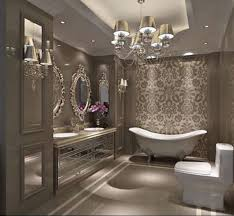 this bathroom is so glamorous this design is a must for your dreamhome bathroom chandelier lighting ideas