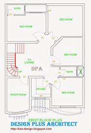 Home Plans In Pakistan  Home Decor  Architect Designer   Home d PlanHome d Plans  First Floor