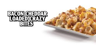 loaded crazy b bites little caesars pizza a family size version of our crazy bites loaded bacon and melted cheese plus a side of jalapentildeos