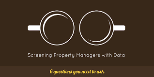questions to ask a property manager before hiring screening managers data