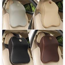 Imitation racing seat Memory <b>Cotton</b> Car headrest Neck Pillow for ...