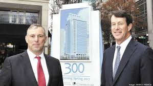 tom finke left chairman and ceo and russell morrison head of global babson capital europe offices