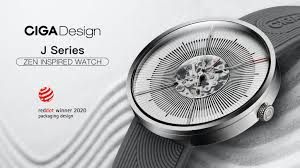 <b>CIGA Design</b> J Series Zen Karesansui <b>Mechanical Watch</b> by CIGA ...