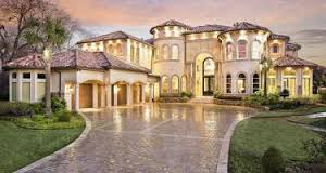 Tuscan House Plans   Home Plans  amp  Styles   Archival DesignsSpanish House Plan Architectural Style Front Exterior