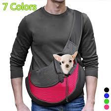 <b>Pet Puppy Carrier Outdoor</b> Travel Dog Shoulder Bag Mesh Oxford ...