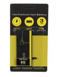 <b>Аккумулятор Nano Original Battery</b> для APPLE iPhone 6 1810mAh ...