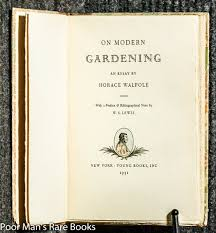 on modern gardening an essay by horace walpole ed horace on modern gardening an essay by horace walpole ed horace walpole