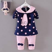 2018 Baby <b>girls clothing sets new</b> spring autumn newborn clothes ...